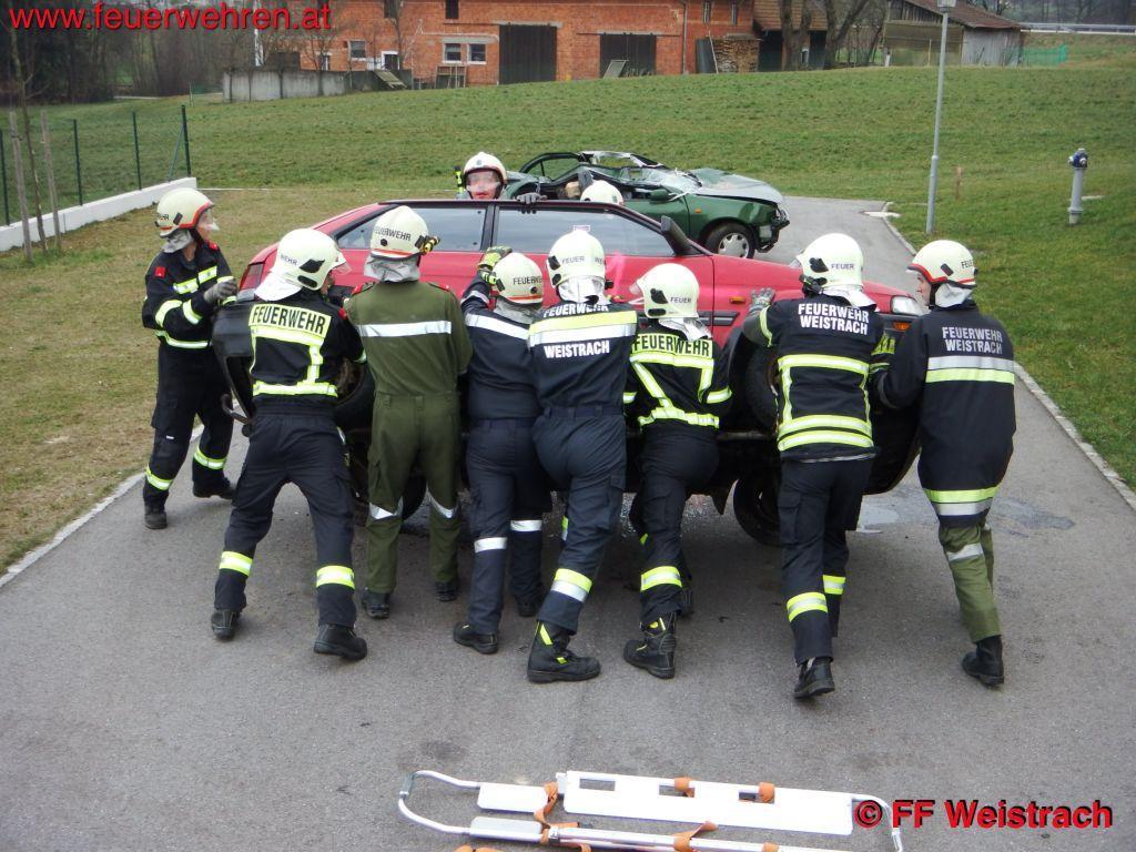 FF Weistrach: 2. Einsatznachmittag der FF Weistrach (Übungen) 1