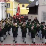 FF St. Lorenzen i.P., HBI Danklmeier und OLM d.V. Pfister jun.