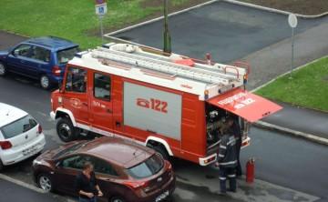 FF Leoben-Stadt: Fassadenbrand Anzengrubergasse 15.05.2015