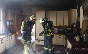 FF Weistrach: Küchenbrand in Weistrach