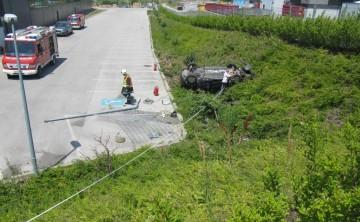 FF Jois: Schwerer Verkehrsunfall in Jois