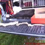 FF Schwarzenau: Verletzter nach Fahrzeugüberschlag 1
