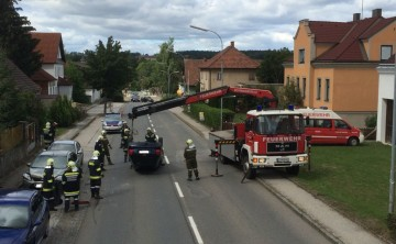 FF Schwarzenau: Verletzter nach Fahrzeugüberschlag