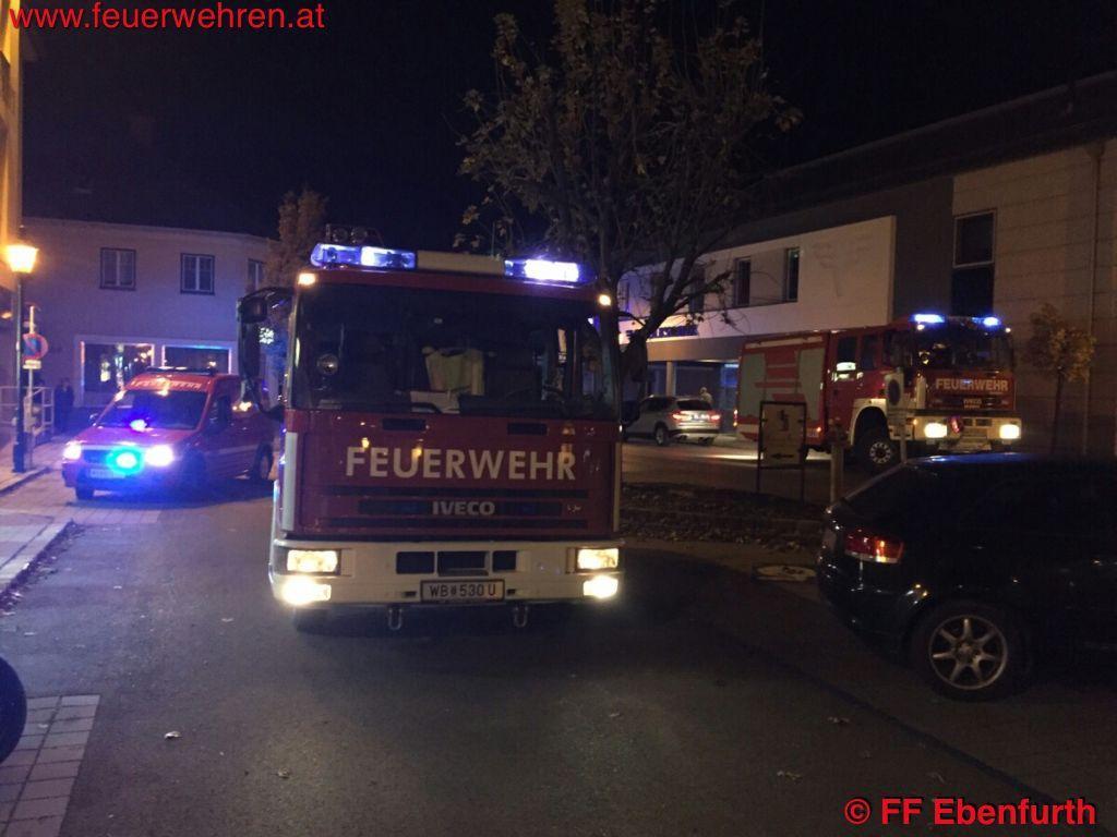 FF Ebenfurth: Verdacht auf Gasaustritt 1