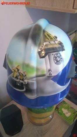 Der Airbrush-Helm von Jochen aus der Steiermark