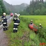 FF Mariazell: PKW-Bergung auf der B21 7