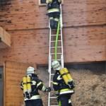 FF Althofen: Brand einer Hackschnitzelanlage 16