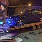 Stadtfeuerwehr Oberpullendorf: Verkehrsunfall auf der Kreuzung B50 - Spitalstraße 5