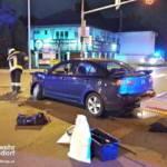 Stadtfeuerwehr Oberpullendorf: Verkehrsunfall auf der Kreuzung B50 - Spitalstraße 3