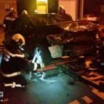 FF Bad Ischl: Fahrzeugbergung in der Kalkgrubenstraße 1