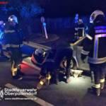 Stadtfeuerwehr Oberpullendorf: Fahrzeugbergung Günserstraße 2
