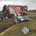 Stadtfeuerwehr Oberpullendorf: Fahrzeugbergung in Unterfrauenhaid 5