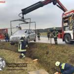 BFV Liezen, Paltental: Schwerer Verkehrsunfall im Ortsgebiet von Trieben 1