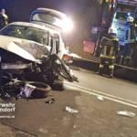 Stadtfeuerwehr Oberpullendorf: Verkehrsunfall S31 mit zwei eingeklemmten Personen 3