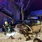 Stadtfeuerwehr Oberpullendorf: Fahrzeugbergung B50 und Verkehrsunfall 4