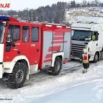 FF Biberbach: Bergung eines Sattelzuges am Friesenberg 2