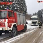 FF Mariazell: Neun Stunden Einsatz für einen LKW 3