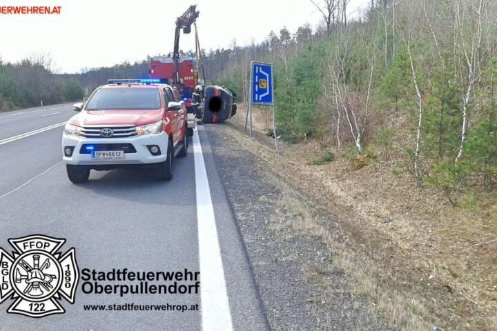 Stadtfeuerwehr Oberpullendorf: Technischer Einsatz auf der S31 1