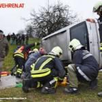 FF Biberbach: Großangelegte Einsatzübung von Feuerwehr und Rotem Kreuz 8