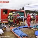 FF Biberbach: Großangelegte Einsatzübung von Feuerwehr und Rotem Kreuz 7