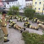 FF Leoben-Stadt: Brand Ver-/Entsorgungsraum Kongresszentrum 1