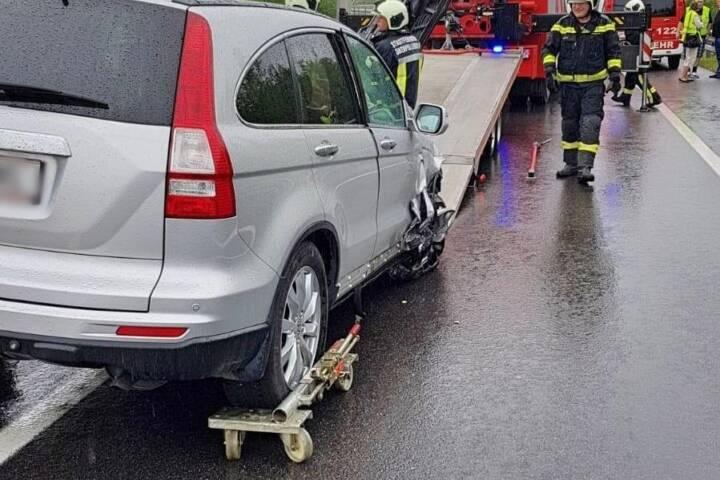 STF Oberpullendorf: Weiterer Verkehrsunfall auf der S31 7