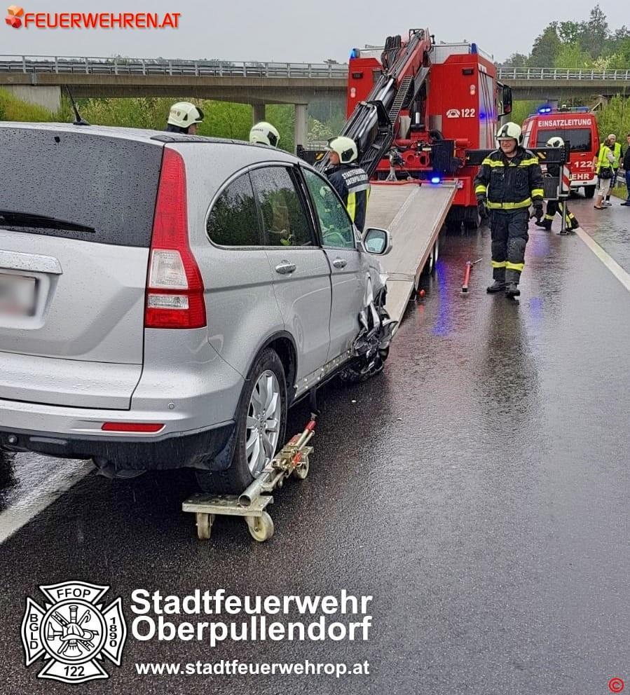 STF Oberpullendorf: Weiterer Verkehrsunfall auf der S31 1