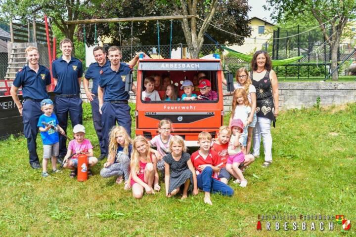 Spielzeugfeuerwehrauto für Kindergarten Arbesbach 1