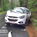 STF Oberpullendorf: Fahrzeugbergung nach Verkehrsunfall 4