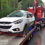 STF Oberpullendorf: Fahrzeugbergung nach Verkehrsunfall 2