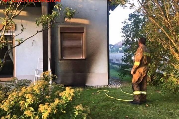 FF St. Georgen i.A.: Wohnhausbrand in Abtsdorf 1