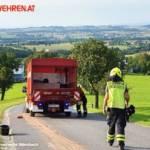 FF Biberbach: Ölspur aufgrund eines technischen Gebrechens 4