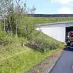 STF Oberpullendorf: Fahrzeugbergungen auf der S31 2
