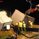 FF Gaweinstal: LKW Bergung A5 5