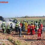 FF Trumau: Verkehrsunfall auf der L156 22