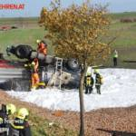 FF Trumau: Verkehrsunfall auf der L156 13