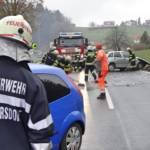 BFVDL: Schwerer Verkehrsunfall auf der B76 im Bereich Wies-Eibiswald 4