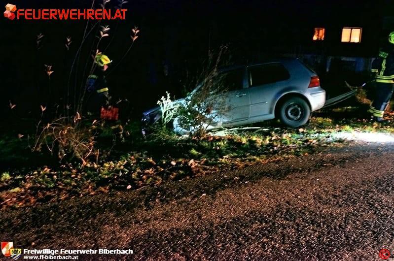 FF Biberbach: Glatteis sorgte für gefährliche Situation 1