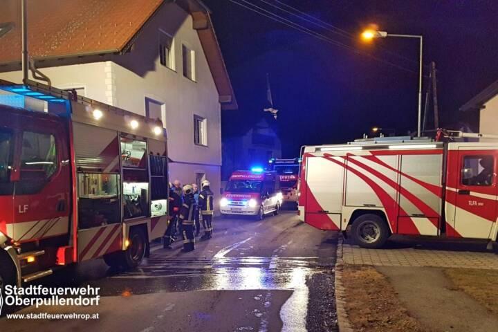 Stadtfeuerwehr Oberpullendorf: Kellerbrand in Bubendorf 5