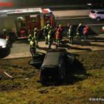 FF Gaweinstal: Verkehrsunfall A5 mit Menschenrettung 3