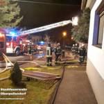 Stadtfeuerwehr Oberpullendorf: Gebäudebrand in Nikitsch 3