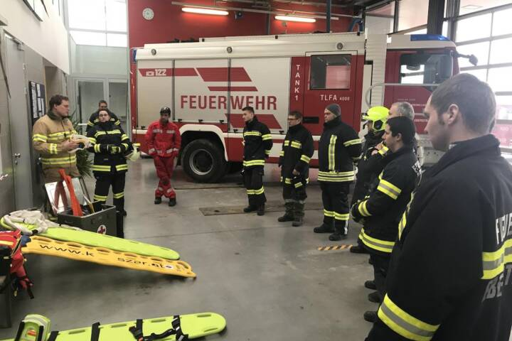 Spineboard.at - Trainingstag bei den Kameraden der FF Eberstalzell (OÖ) 1