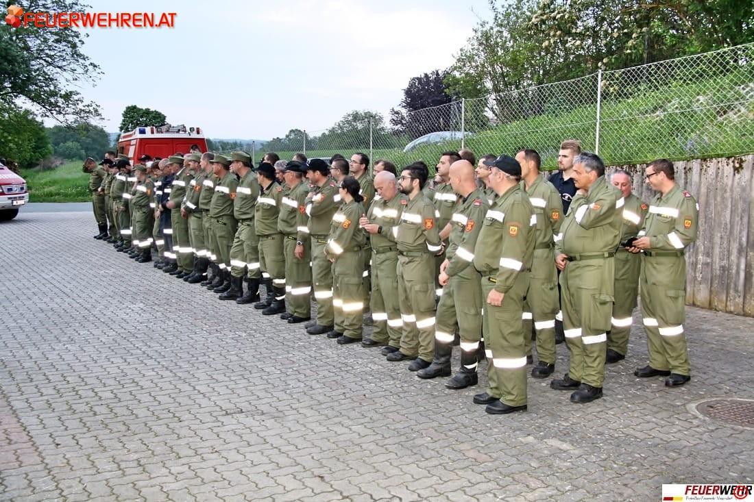FF Mogersdorf-Ort: Einsatzübung Tag der Feuerwehr 1