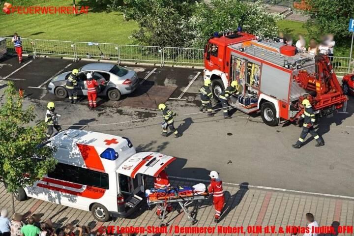 FF Leoben-Stadt / Demmerer Hubert, OLM d.V. & Niklas Judith, OFM