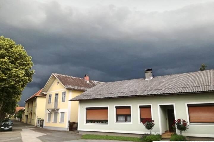 FF Mogersdorf-Ort: Unwetter über Bezirk Jennersdorf 1