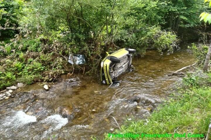 BFVDL: Verkehrsunfall in Bad Gams 1