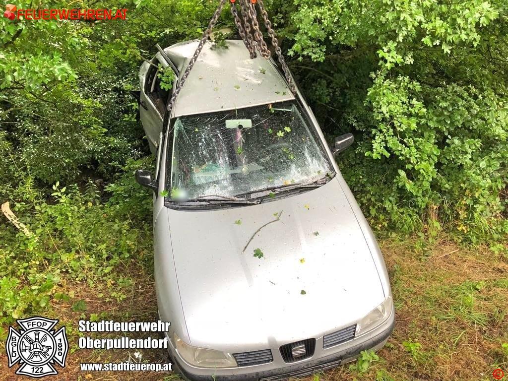 STF Oberpullendorf: Verkehrsunfall forderte zwei Verletzte 1