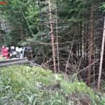 Ölaustritt nach Mopedunfall 2
