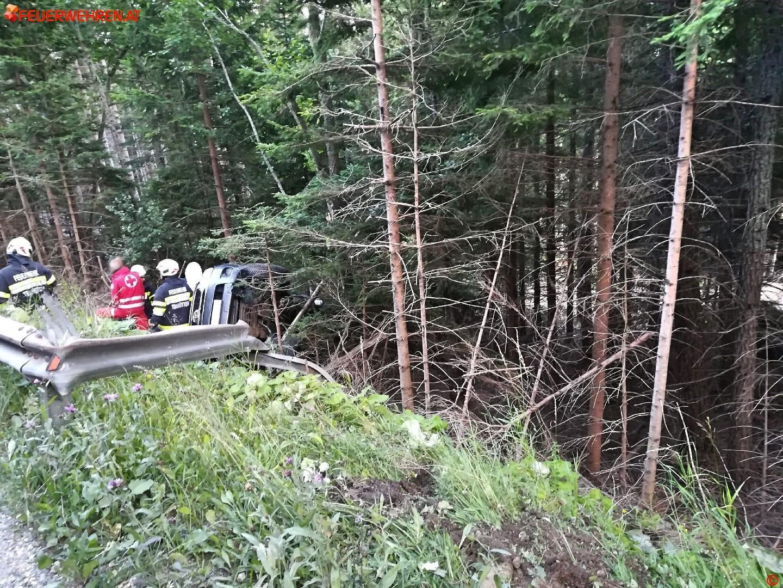 BFVDL: Verkehrsunfall auf der L619 1