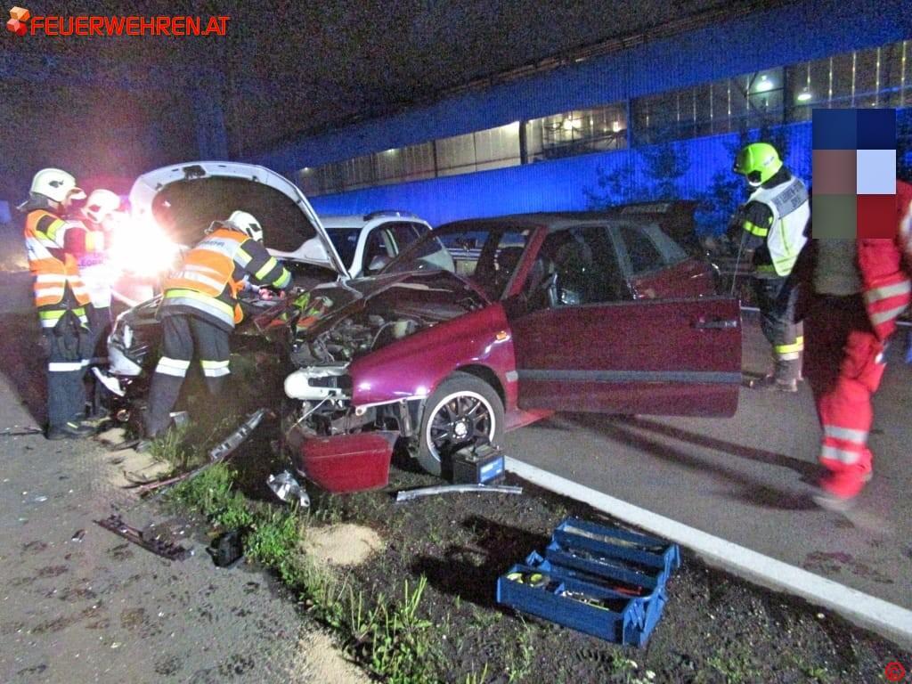 FF Leoben-Stadt: Verkehrsunfälle B115a und S6 1